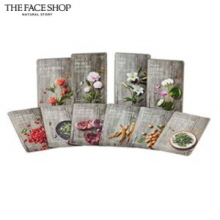 THE FACE SHOP Real Nature mask sheet X10sheet, THE FACE SHOP