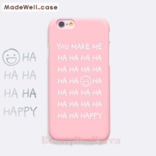 MADEWELL-CASE 1st Time Lucky HaHa Happy Pink, MADEWELL-CASE