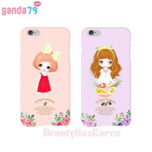 GANDA79 4Items Tynie Dolly Hard Phone Case,GANDA79,Beauty Box Korea