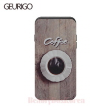 GEURIGO Wood Coffee Card Phone Case,Beauty Box Korea