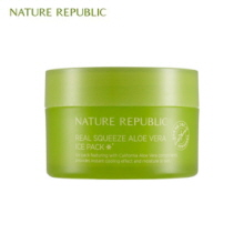 NATURE REPUBLIC Real Squeeze Aloe Vera Ice Pack 100ml, NATURE REPUBLIC