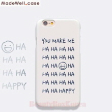 MADEWELL-CASE 1st Time Lucky HaHa Happy Grey, MADEWELL-CASE