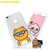 KAKAO FRIENDS 6 Items UV Clear Jelly Phone Case