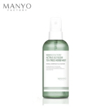 MANYO FACTORY Active Refresh Tea Tree Herb Mist 120ml, MANYO FACTORY