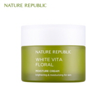 NATURE REPUBLIC White Vita Floral Moisture Cream 50ml, NATURE REPUBLIC