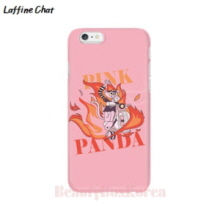 RAFFINE CHAT Pink Panther Rider Pink Hard Phonecase, RAFFINE CHAT