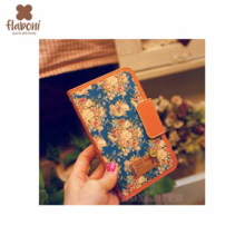 FLABONI Meomory of The Old Nosegay Peony Blue Wallet Phonecase