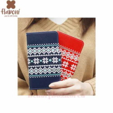 FLABONI 2Item Nordic Jacquaid Wallet Phone Case
