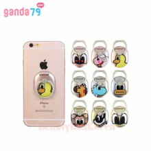 GANDA79 9Items Pancoat Smart Phone Ring