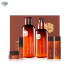 INNISFREE Cauliflower Mushroom Vital Skin Care SET (200ml+160ml+25ml+25ml+5ml+10ml), INNISFREE