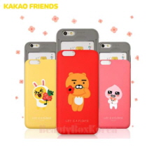 KAKAO FRIENDS Flower Slide Card Bumper Phone Case,Beauty Box Korea