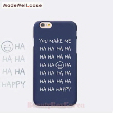 MADEWELL-CASE 1st Time Lucky HaHa Happy Navy, MADEWELL-CASE