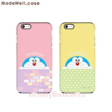 MADEWELL-CASE 2Items Doraemon Hide&Seek Phone Case