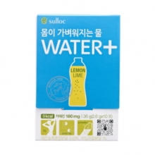 OSULLOC Lighter Body Water+ Lemon&Lime 30Sticks, O'SULLOC