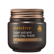 INNISFREE Super volcanic pore clay mask 100ml, INNISFREE