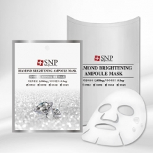 SNP Diamond Brightening ampoule Mask [10 sheet], SNP