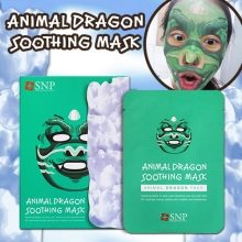SNP Animal Dragon Soothing Mask 25ml x 10 sheets, SNP