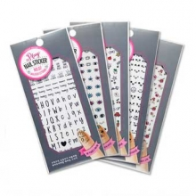 ETUDE HOUSE Play Nail Sticker (Water Free Decal) 1Sheet, ETUDE HOUSE