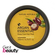NATURE REPUBLIC Argan Essential Deep Care Hair Pack 200ml, NATURE REPUBLIC