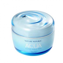 NATURE REPUBLIC Super Aqua Max Fresh Watery Cream 80ml, NATURE REPUBLIC