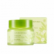 NATURE REPUBLIC Fresh Green Tea 80 Cream 55ml, NATURE REPUBLIC
