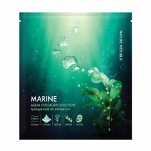 NATURE REPUBLIC Aqua Collagen Solution Marine Hydro Gell Mask 20g, NATURE REPUBLIC