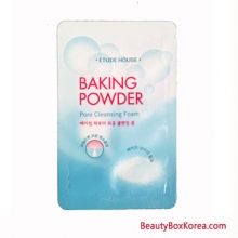 [mini] ETUDE HOUSE Baking Powder Pore Cleansing Foam 4ml*10ea, ETUDE HOUSE