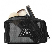 3CE MESH BRUSH KIT (Black) 1ea,Beauty Box Korea