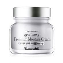 TONYMOLY Naturalth Goat Milk Premium Moisture Cream 60ml, TONYMOLY