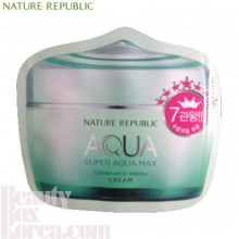 [mini] NATURE REPUBLIC Super Aqua Max Combination Watery Cream 1ml*10ea, NATURE REPUBLIC