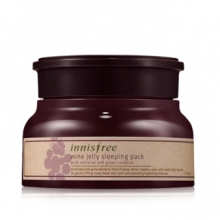 INNISFREE Wine Jelly Sleeping Pack 80ml, INNISFREE