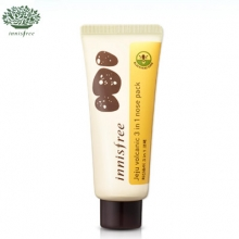 INNISFREE Jeju Volcanic 3 in 1 Nose Pack 40ml , INNISFREE