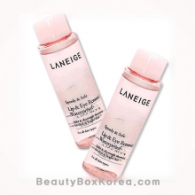 [mini] LANEIGE lip and Eye Remover Waterproof 25ml 2ea, LANEIGE