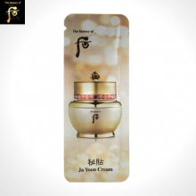 [mini] THE HISTORY OF WHOO Bichup Ja Yoon Cream 1ml*10ea, THE HISTORY OF WHOO