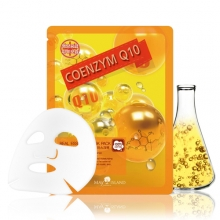 MAY ISLAND Real Essense Coenzyme Q10 Mask Pack 25ml, MAYISLAND