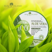 MAY ISLAND Aloe Vera 100% Moisture Soothing Gel 300ml, MAYISLAND