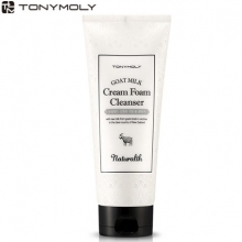TONYMOLY Naturalth Goat Milk Cream Foam Cleanser 200ml, TONYMOLY