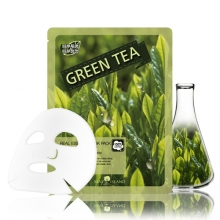 MAY ISLAND Real Essense Green Tea Mask Pack 25ml, MAYISLAND