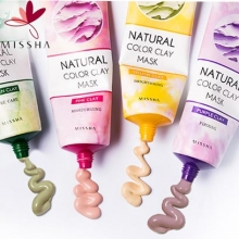 MISSHA Natural Color Clay Mask 137g, MISSHA