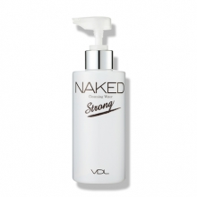 VDL NAKED CLEANSING WATER (STRONG) 200ml,  VDL