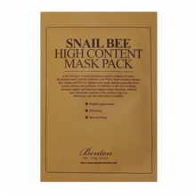 BENTON Snail Bee High Content Mask Pack 20g, BENTON
