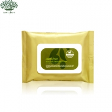 INNISFREE Olive Real Cleansing Tissue (30 Sheets), INNISFREE