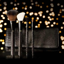 MEMEBOX I'm MemeI'm Black Leather Brush Set [Holiday limited], MEME BOX