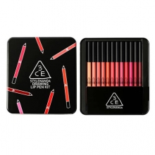 3CE Drawing Lip Pen Kit 12 Colors 1Set, 3CE