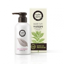 HAPPY BATH Feminine Cleanser #Green Tea 200ml, HAPPY BATH