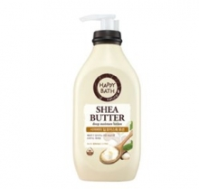 HAPPY BATH Sheabutter Deep Moisture Lotion 450ml, HAPPY BATH