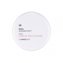 THE FACE SHOP Dual Shading Pact 12g, THE FACE SHOP