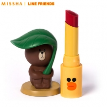 MISSHA M Glossy Lip Rouge 4.1g [Line Friends Limited Edition], MISSHA