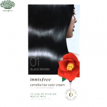 INNISFREE Camellia Hair Color Cream [Black Brown / Deep Brown], INNISFREE