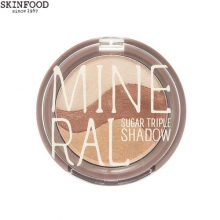SKINFOOD Mineral Sugar Triple Shadow 3.8g,Beauty Box Korea